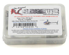 RCZALG009 RC Screwz Align T-Rex 450 Sport Stainless Steel Screw Kit
