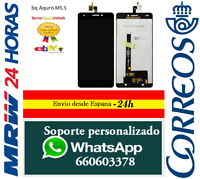 SCHERMO COMPLETA PER BQ AQUARIS M5.5 NERA CAPACITIVA LCD NERO