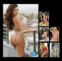 """A1705 # 6pcs. Sexy Cute Beer Girl Swim Suit Glossy Photos 4""""x6"""" Mini Poster"""