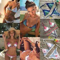 Swimsuit Swimwear Women 2017 Bikini Set Padded Bandage Bra Push-up Bathing Suit