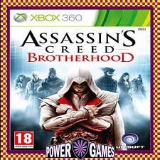 ASSASSINS CREED: BROTHERHOOD Assassin's (Microsoft Xbox 360) Brand New