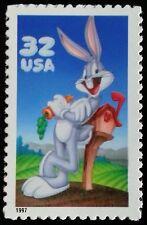 1997 32c Bugs Bunny, Single Scott 3137a Mint F/VF NH