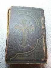 Child's Key to Heaven Miniature Leather Cover 1892