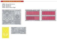 Eduard 1/48 Dassault Mirage estelar Big-ed Set # 49144