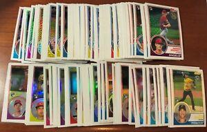 2018 Topps '83 Topps Silver Pack Chrome Baseball Card You Pick FREE SHIP