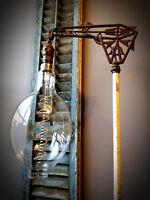 Grand Nostalgic Edison Light Bulb - Oversized BT56 Halide Shape, 4w LED Filament