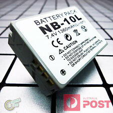 NB10L/NB-10L Battery for Canon PowerShot Power Shot G15 G16 SX40 SX50 SX60 HS