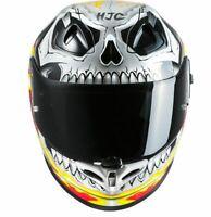 HJC FG-ST Ghost Rider Motorrad Helm Gr.L  Fb.sw/rot  UVP 379,90