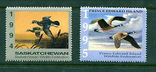 2 Different MNH Provincial Wildlife Stamps #SW5 and PEW1 (Lot #WF16)