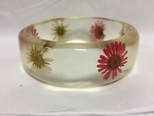 New Look Stunning Unique Hippy Flowery Rounded Bangle
