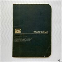 State Bank Victoria Passbook 1970s (G1)