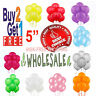 "5"" inch small latex balloons WHOLESALE party birthday event wedding decorations"