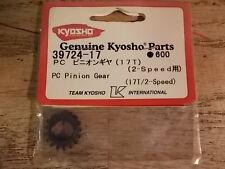 39724-17 Pinion Gear 17 Tooth (2 Speed) - Kyosho Pure Ten GP Spider MK 2 MK II