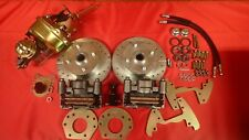 1964 1965 1966 mustang  front disc brake conversion 4 lug 6 cylinder power