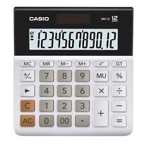 Casio Mh-12-We Calculators Desk-Top Type Mh12 White /Genuine