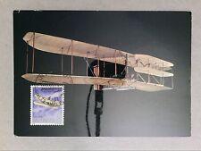 SAN MARINO MK 1978 FLUGZEUGE WRIGHT AVIATION MAXIMUMKARTE MAXIMUM CARD MC c8482