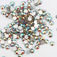 1440pcs Glitter Sunrise AB Nail Art Rhinestones Crystal Gems 3D Nails Decoration