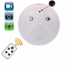 Wireless SPY Hidden Camera Smoke Detector Motion Detection Video Recorder DVR