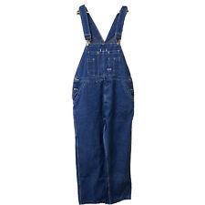 Big Smith Bib Overalls 38 X 30 Carpenter Cotton Blue Work Denim Mens Painter
