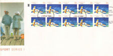"""Sport Series 1 """"Fishing""""- Australia Post First Day Cover 13 February 1989"""