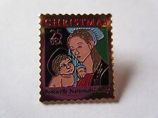 Madonna Child Christmas Boticelli Gallery Art Stamp 1973 Scott #2399 pin NEW