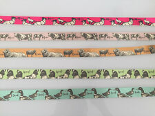 ANIMALS HANDMADE DOG COLLAR - DOG / CAT / DUCK / SHEEP / COW