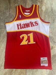 21# Dominique Wilkins Atlanta Hawks 1986-87 Classics Men's Swingman Jersey Red