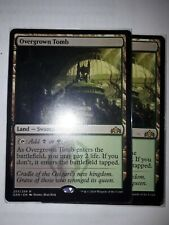 Mtg overgrown tomb  x 1 great condition