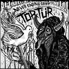 """TORTÜR - NEVER ENDING GRIEF 12"""" LP, raw punk/d-beat, disease, disclose, framtid"""