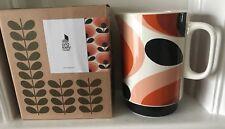 Orla Kiely Pitcher  1.5L 70s Oval Flower/Orange (BNIB)