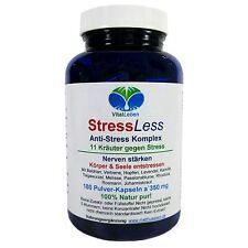 StressLess, 11 Kräuter Anti-Stress-Komplex, 180 Pulver-Kapseln a 350mg, #25812