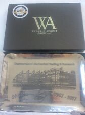 More details for westmoreland mechanical testing us 50 year anniversary metal tray wendell august