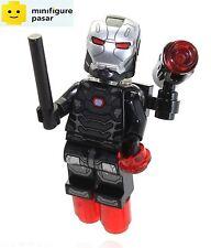 sh258 Lego Super Heroes 76051 Civil War - War Machine Minifigure - New