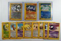 Pokemon Skyridge WoTC Lot of 11 Cards - 2 Rares + Reverse Holo - NM/M