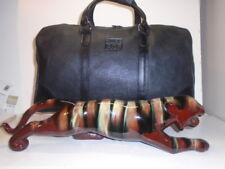"ROOTS 19""  AGF FINANCIAL BLACK BANFF WATERBUCK DUFFLE  BAG  $495++CAD RETAIL +1"