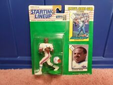 Kenner Starting Lineup Warren Moon 1993 Houston Oilers NFL Figure White Pants