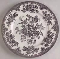Royal Stafford ASIATIC PHEASANT BLACK Dinner Plate 5917507