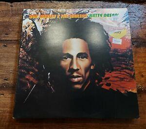 BOB MARLEY  & THE WAILERS - NATTY DREAD LP ILPS 9281 ISLAND 1974 VG+!