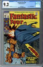 Fantastic Four #95 CGC 9.2