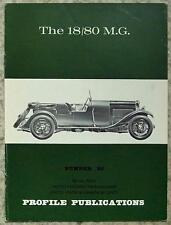 The 18/80 MG Car Profile Publications No 86