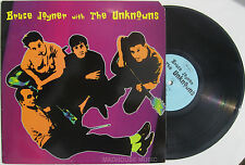 "Rockabilly BRUCE JOYNER with The UNKNOWNS 10"" LP 1980 / 81 USA"