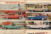 1957 Chrysler New Yorker-Imperial Convertible-Belvedere-DeSoto-Royal PRINT AD