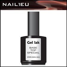 "GEL INDURENTE ADESIVO "" TOP / BASE nail1.eu "" 15 ml polacco-gel sigillante"