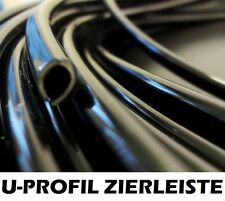 10m Kantenschutz Zierleisten schwarz U-Profil BMW E30 E34
