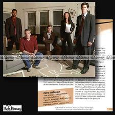 #CSP.061 Fiche TV Séries ESPRITS CRIMINELS / CRIMINAL MINDS Mandy Patinkin