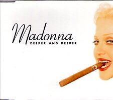 MAXI CD MADONNA - DEEPER AND DEEPER 6 TRACK GERMAN CD SINGLE 936240736-2 DE 1992