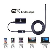 6LED 720P WiFI Waterproof Endoscope Inspection Tube Camera For iPhone Android PC