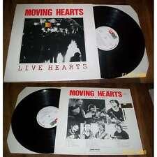 MOVING HEARTS - Live Hearts LP Folk Rock Irish