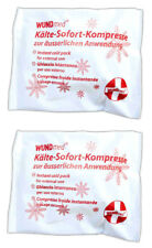 2x Kälte Sofort Kompressen | Kühlkompresse | Kühlkissen | Kühlbeutel | Kühlpads