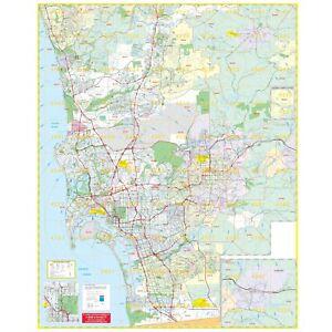 San Diego, CA South Wall Map